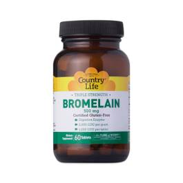 Triple Strength Bromelain Digestive Enzyme