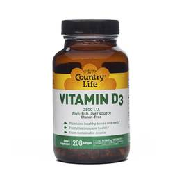 Vitamin D3 2500 IU Softgels