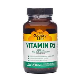 Vitamin D3 1000 IU Softgels