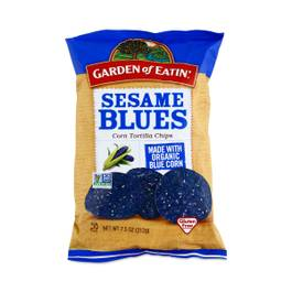 Sesame Blues Tortilla Chips