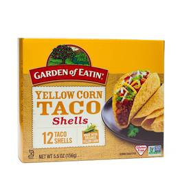 Yellow Corn Taco Shells