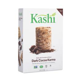 Dark Cocoa Karma Shredded Wheat Biscuits Cereal