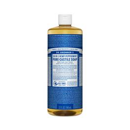 Organic Peppermint Castile Liquid Soap