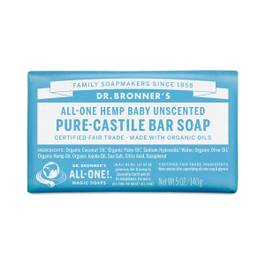 Unscented Baby-Mild Castile Bar Soap
