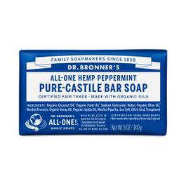Organic Peppermint Castile Bar Soap