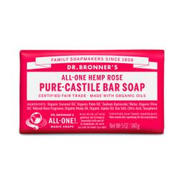 Organic Rose Castile Bar Soap