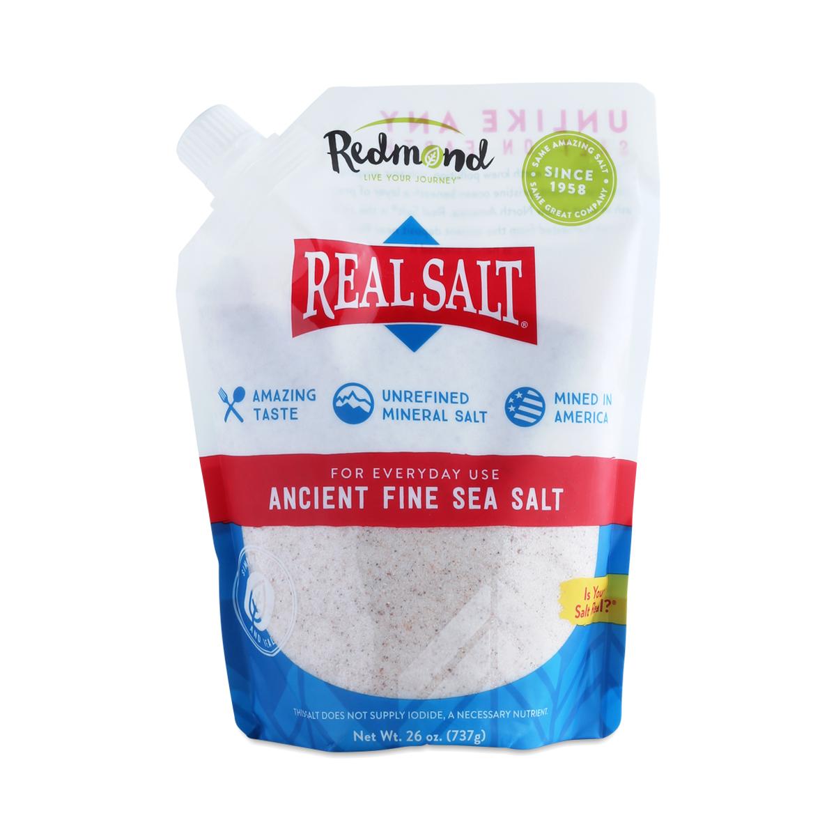 Real Salt Sea Salt By Redmond Thrive Market