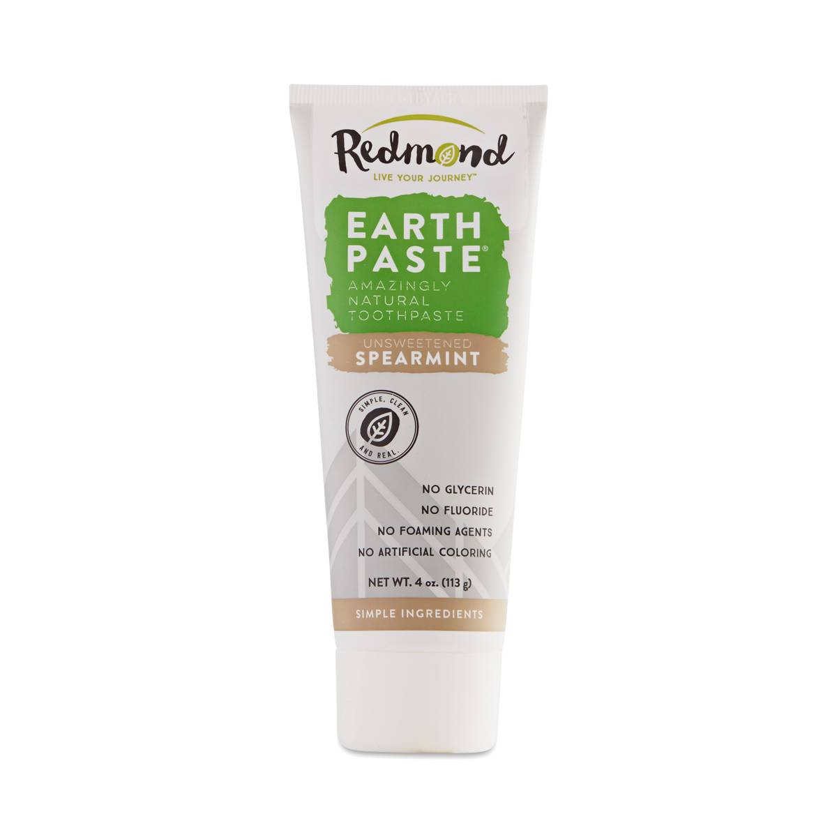 Earthpaste Spearmint Toothpaste By Redmond Thrive Market