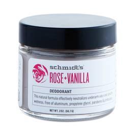 Rose & Vanilla Deodorant Jar