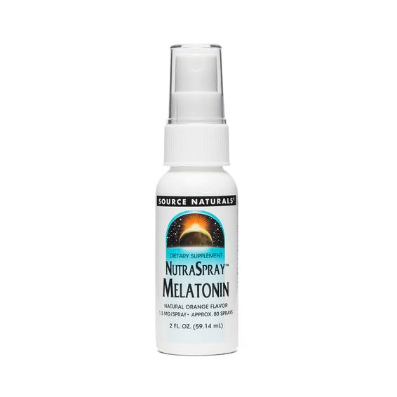 Sublingual Melatonin 1.5mg NutraSpray - Orange