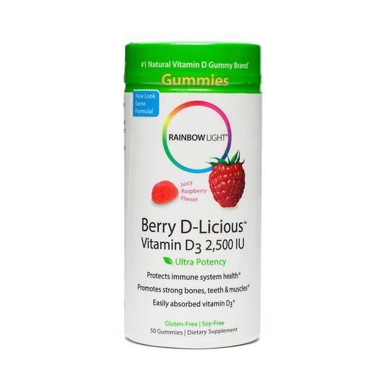 Berry D-Licious Vitamin D3 Gummies - 2,500 IU
