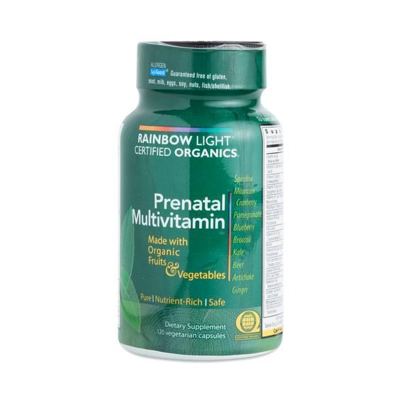 Certified Organics Prenatal Multivitamin Thrive Market