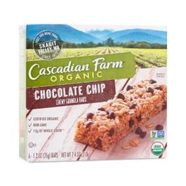 Chocolate Chip Chewy Granola Bars