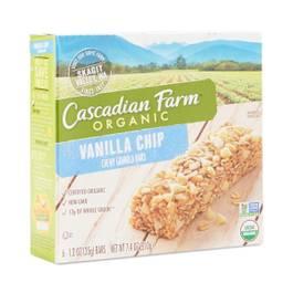 Organic Vanilla Chip Chewy Granola Bars