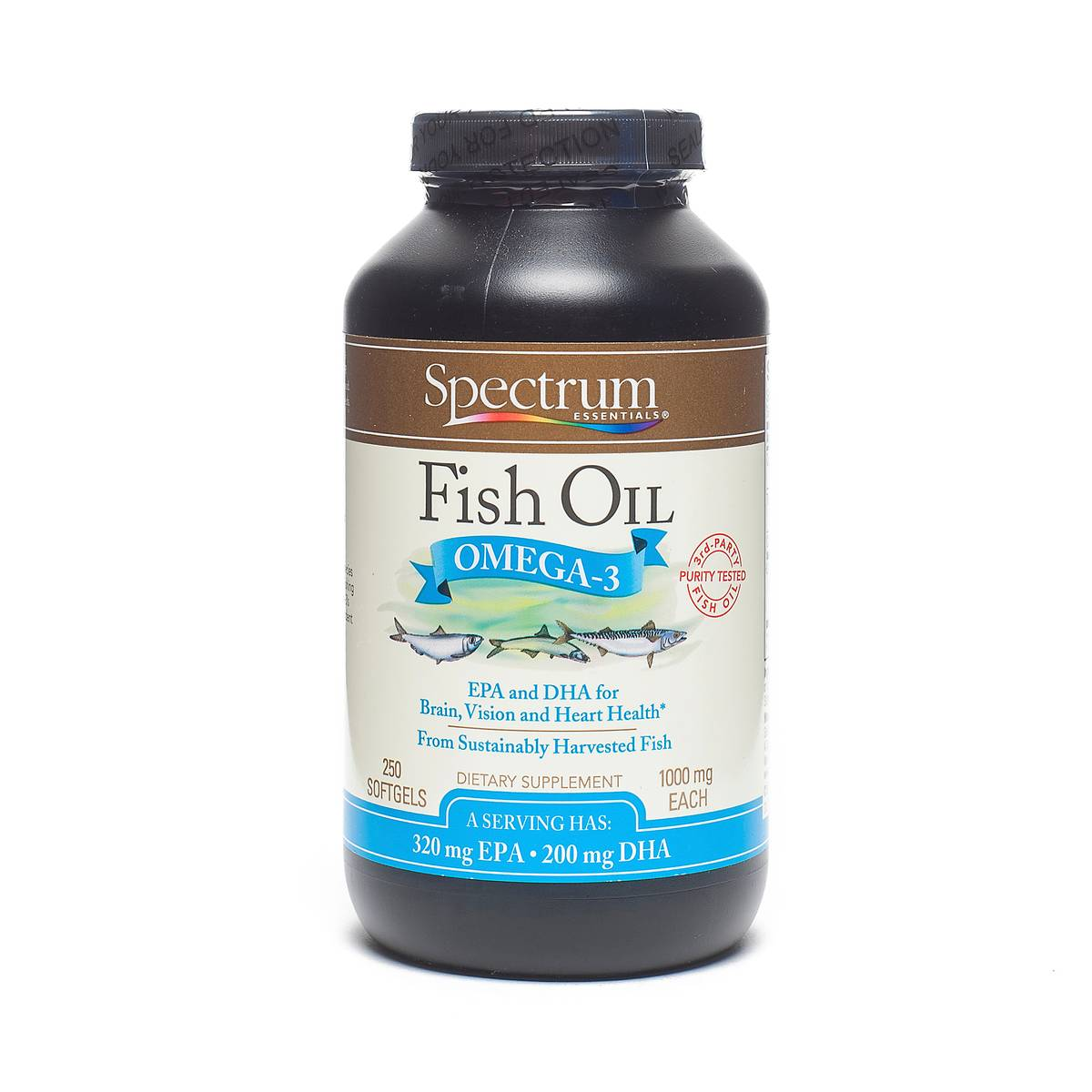 Fish oil w vitamin d by spectrum essentials thrive market for Giving dogs fish oil