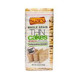 Gluten Free Thin Cakes - Corn Quinoa and Sesame
