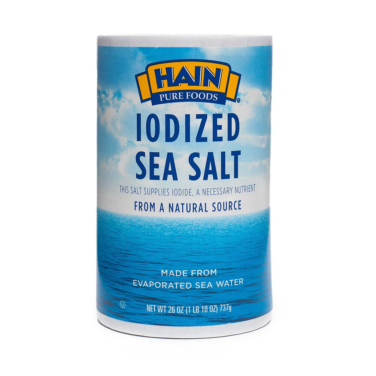 Salt Calcium Silicate : Oz iodized sea salt by hain pure foods thrive market