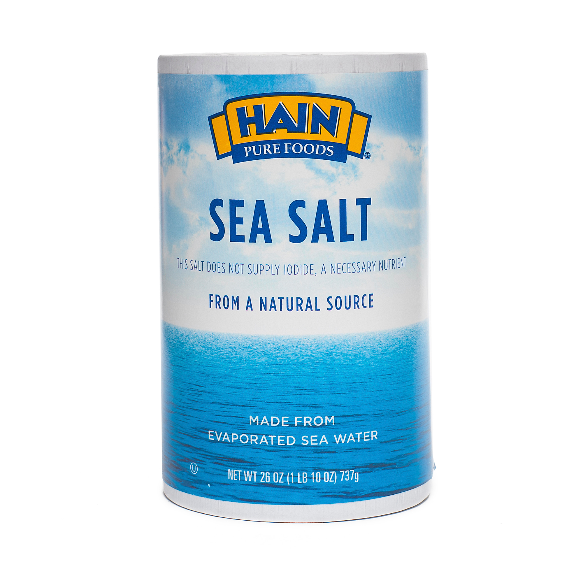 Sea Salt By Hain Pure Foods Thrive Market