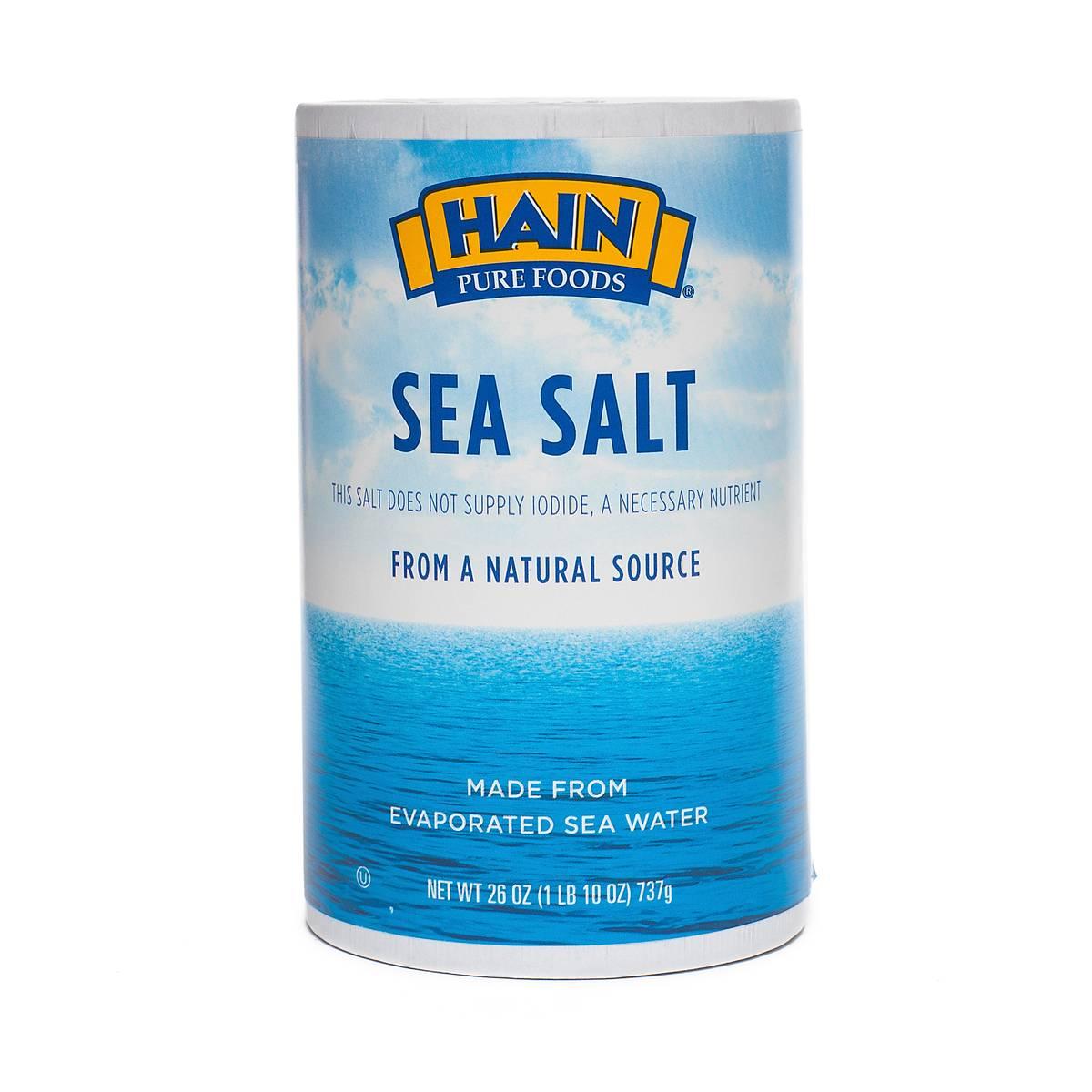 Sea Salt by Hain Pure Foods - Thrive Market