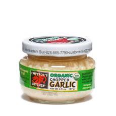 Organic Chopped Garlic