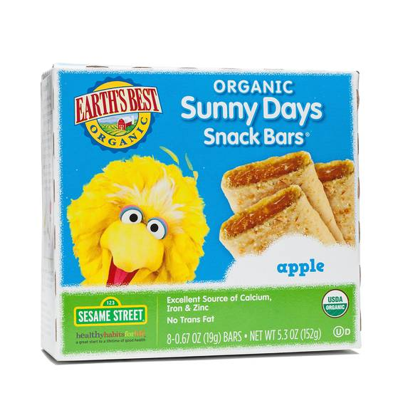 Organic Apple Snack Bars