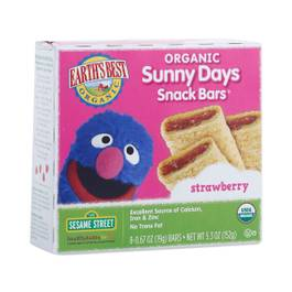 Organic Strawberry Snack Bars