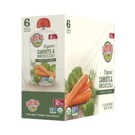Carrots & Broccoli Baby Food Puree
