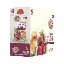 Sweet Potato & Beets Baby Food Puree