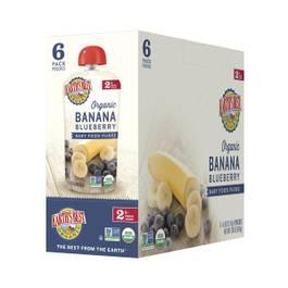 Banana & Blueberry Baby Food Puree