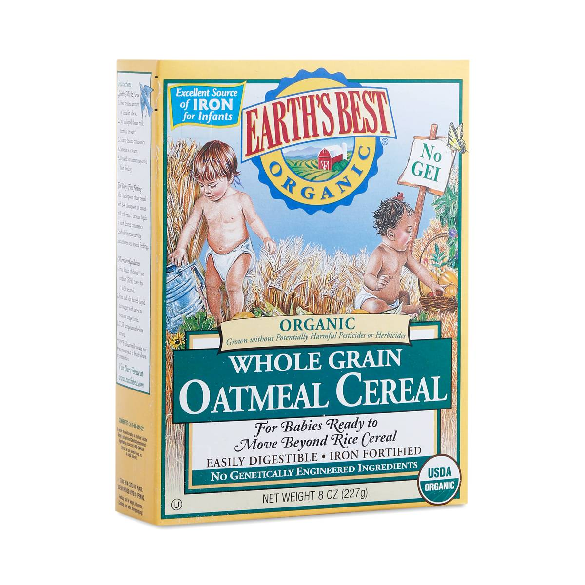 Oatmeal Cereal By Earth S Best Thrive Market