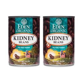 Organic Kidney Beans (2-pack)