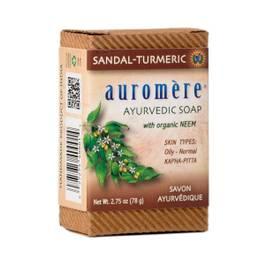 Ayurvedic Sandalwood-Turmeric Bar Soap