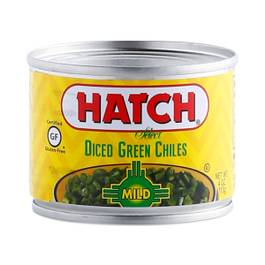 Mild Green Chiles - Diced