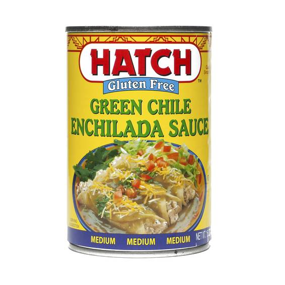 Medium Green Chile Enchilada Sauce