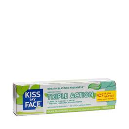 Triple Action Fluoride Free Toothpaste