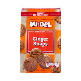 All Natural Ginger Snaps