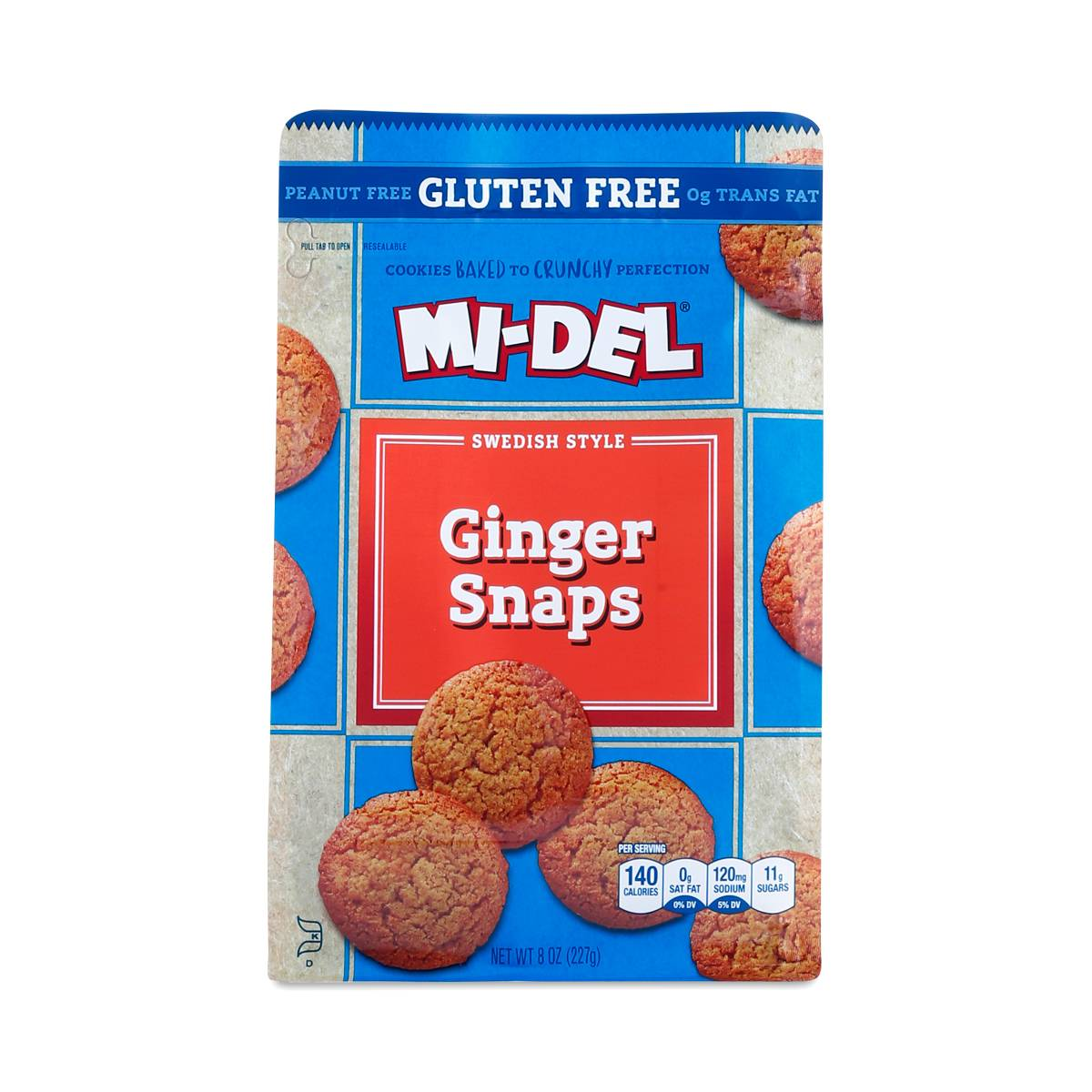 8 oz Gluten-Free Ginger Snaps by Midel - Thrive Market