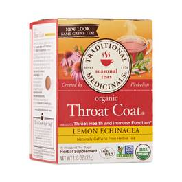 Throat Coat® Lemon Echinacea Herbal Tea