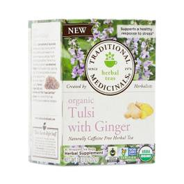 Organic Tulsi with Ginger Tea