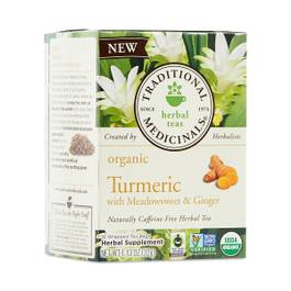 Organic Turmeric with Meadowsweet & Ginger Tea