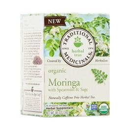 Organic Moringa with Spearmint & Sage Tea