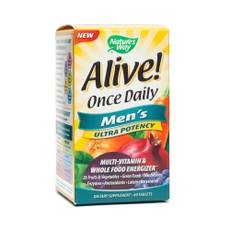 Alive! Once Daily Ultra Potency Multivitamin - Men's