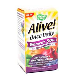 Alive! Once Daily Ultra Potency Multivitamin - Women's 50+