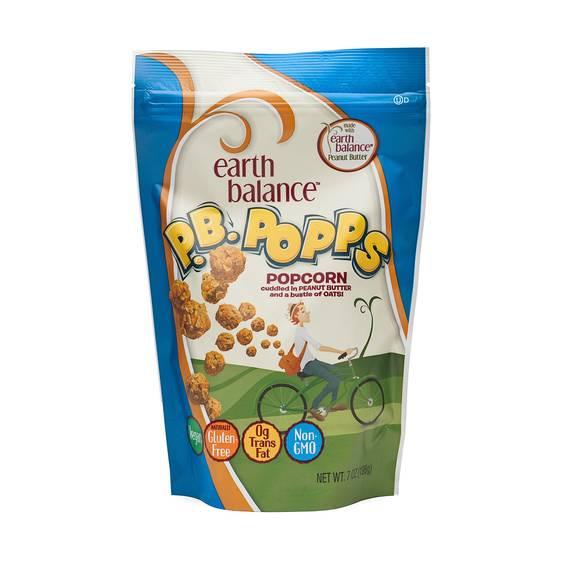 Peanut Butter Popcorn Snacks