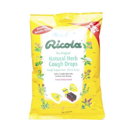 Natural Herb Cough Drops - Original