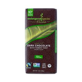 Fair Trade Dark Chocolate With Forest Mint- 72% Cocoa