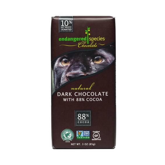 Fair Trade Dark Chocolate - 88% Cocoa