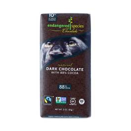 Fair Trade Dark Chocolate - 88% Cocoa