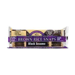 Black Sesame Brown Rice Snaps