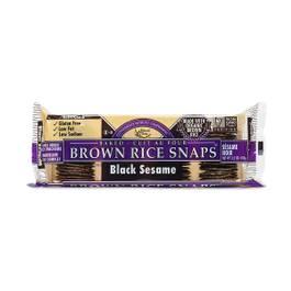 Black Sesame Brown Rice Snaps